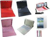 WIRELESS BLUETOOTH KEYBOARD CASE STAND FOR SAMSUNG GALAXY TAB 3/4/PRO/S/S2/A