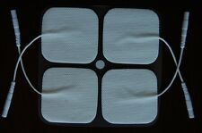 USA Seller 20 Replacement Pads for Massagers Tens Units Electrode Pads 2x2 inch