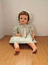 Vintage 1950's Ideal Baby Big Eyes Or Baby Ruth ? Marked P-5 Cute Baby Needs TLC