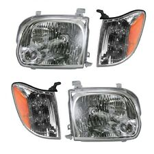 2005 - 2007 TOYOTA SEQUOIA HEADLIGHTS AND CORNER LAMPS LIGHTS COMBO