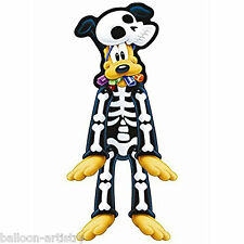 Halloween Disney Mickey Mouse Party PLUTO Dog Skeleton Jointed Cutout Decoration