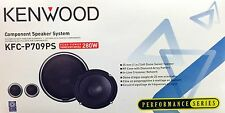 "NEW Kenwood KFC-P709PS 6-3/4"" Component Car Speakers (1 Pair), Also Fits 6-1/2"""