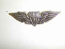 b0995 WW 2 CNAC Pilot wings metal Chinese National Aviation Corporation C7A12