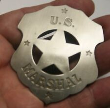 Quality Reproduced Shield -- U.S.  Marshal Badge, - Old West Style