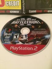 Star Wars: Battlefront II (Sony PlayStation 2, 2005) Disc Only