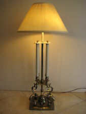 Stiffel Brass Bouillotte French Candlestick Table Lamp Design By Tommi Parzinger