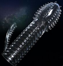 Silicone spike Condom Reusable Penis Condom Penis Impotence Erection