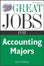 Great Jobs for Accounting Majors, Second edition (Great Jobs Series)
