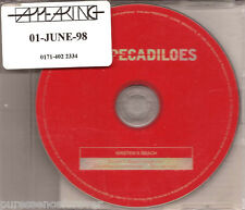 THE PECADILOES - Kirsten's Beach (UK 3 Tk DJ CD Single)