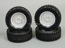 RC 1/10 Tamiya CC-01 Wrangler, Pajero, Land Cruiser OEM TRUCK Wheel Set