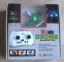 Leading Edge Nano Drone Quadcopter Flying Remote Control Toy Age 14+  NYLE4C