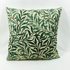 "William Morris Willow Bough Green 17"" x 17""  Complete With Cushion Pad"