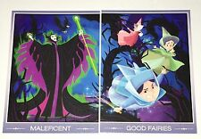 Disney 2015 D23 Expo Exclusive (2) Trading Cards ~ Maleficent & The Good Fairies