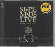 SIMPLE MINDS LIVE IN THE CITY OF LIGHT - 2 CD SIGILLATO!!!