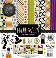 Echo Park Halloween Collection 12 x 12 Collection Kit 2016