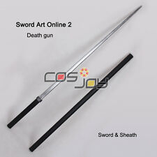Sword Art OnlineⅡDeath Gun Sword and Sheath PVC Cosplay Prop