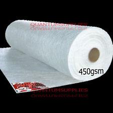 450gm CHOPPED STRAND MAT FIBREGLASS MATTING 20mtr x1mtr