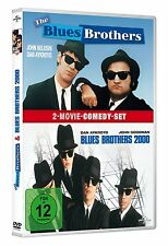 2 DVDs * THE BLUES BROTHERS + THE BLUES BROTHERS 2000 BOX (MB) # NEU OVP +