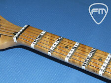 FRETBOARD NOTE STICKERS for Guitar. Fret Labels Decals Learn guitar notes easily