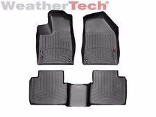 WeatherTech Floor Mats FloorLiner for Chrysler 200 Sedan - 2015-2016 - Black
