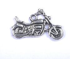 20Pcs Tibetan Silver Motorcycle Charms Pendants SH160