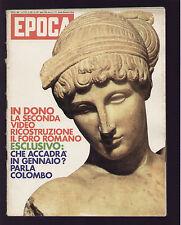 EPOCA 1104/1971 GOOD YEAR LANCIA FULVIA SPORT POLAROID SAIGON CASCELLA VOLVO