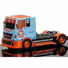 SCALEXTRIC Slot Car C3772 Team Truck Gulf No.68