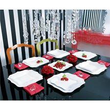 Luminarc servizio piatti per 12 persone 36 pezzi  modello Authentic bianco