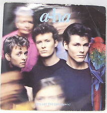 """A-HA - YOU ARE THE ONE REMIX 7"""" Single Vinyl 45 Picture Sleeve VG"""