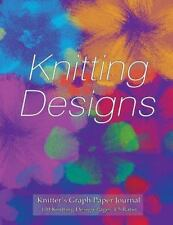 Knitter's Graph Paper Journal 120 Knitting Design Pages 4:5 Ratio :...