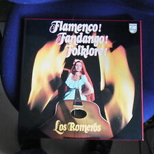 3LP Box Los Romeros: Flamenco! Fandango! Folklore!