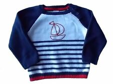 NWT Boy's Gymboree Shore to Love sailboat striped sweater ~ 18-24 monhths