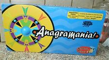 ANAGRAMANIA Unique Teen Adult BOARD GAME Clues Ancient Art COMPLETE