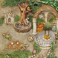 NIB Harmony Kingdom Picturesque Tile Gourmet Gazebo Byrons Secret Garden HK New