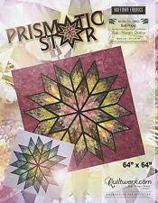 Prismatic Star Paper Pieced Foundation Quilt Pattern by Judy Niemeyer
