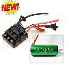 Castle Creations 1/8 Mamba Monster 2 Waterproof ESC w/ 2200KV Motor : 1/8 Truggy