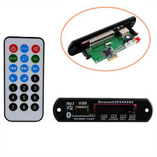 DC Car Auto Digital LED USB Bluetooth MP3 Decode Brett FM Radio HiFi Remote