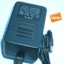 AC/DC POWER ADAPTER SF48-0602100DB 6V 2.1A 12.6VA UK PLUG