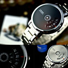 New Creative Stainless Steel Men's Military Sport Analog Quartz Wrist Watch