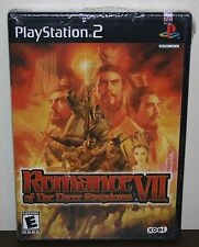 Romance of the Three Kingdoms VII 7 - PS2 Playstation 2 - BRAND NEW