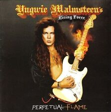 CD Yngwie Malmsteen Perpetual Flame CD, 2008, Rising Force Records)