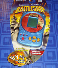 NEW Battleship Electronic Handheld Travel Game Sealed In The Package