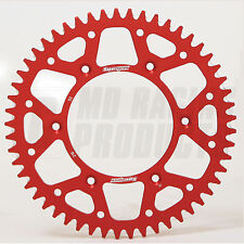 HONDA CRF 250 / 250X 04 -ON Supersprox Motocross Rear Aluminum Sprocket Red 50T