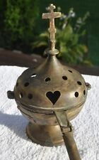 19th Cen Imperial Russia Russian Orthodox Church Scent Fuming or Candle Holder