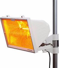 Ml543-ip24 1300w Outdoor Riscaldatore ad infrarossi con Mesh Grill & Tubo rs7 1300w Bianco