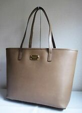 MICHAEL MICHAEL KORS Dark Khaki JET SET ITEM MEDIUM MF LEATHER Tote Bag Handbag