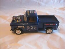 Chevrolet Step Side Pick Up Truck In A Blue Ralli Art Diecast From ATI     dc174