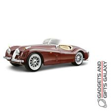 BBURAGO 1951 JAGUAR XK 120 ROADSTER 1:24 SCALE DIECAST MODEL CAR KIT collectors