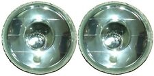 "7"" Round H4 Headlights Spot Beam Semi Sealed for Nissan Patrol GQ Maverick TB TD"