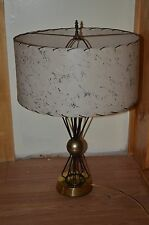 eames wire art sculpture sputnik atomic table lamp-tony paul ferris era-gold